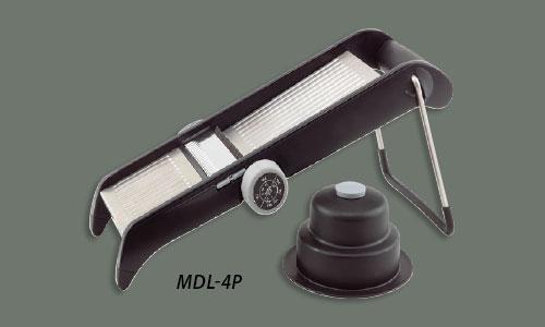 Winco MDL-4P Mandoline Slicer w/ Built-In Blade, Plastic