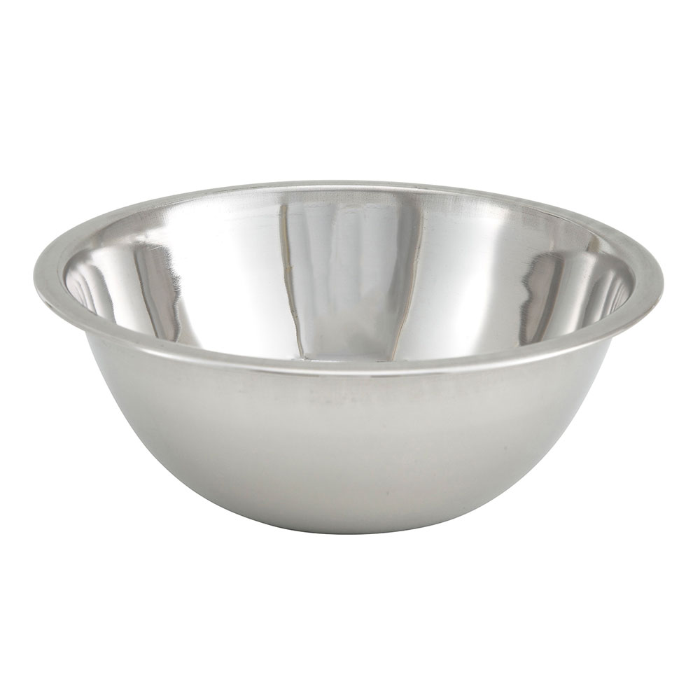 "Winco MXB-75Q 6.25"" Mixing Bowl, Stainless Steel"