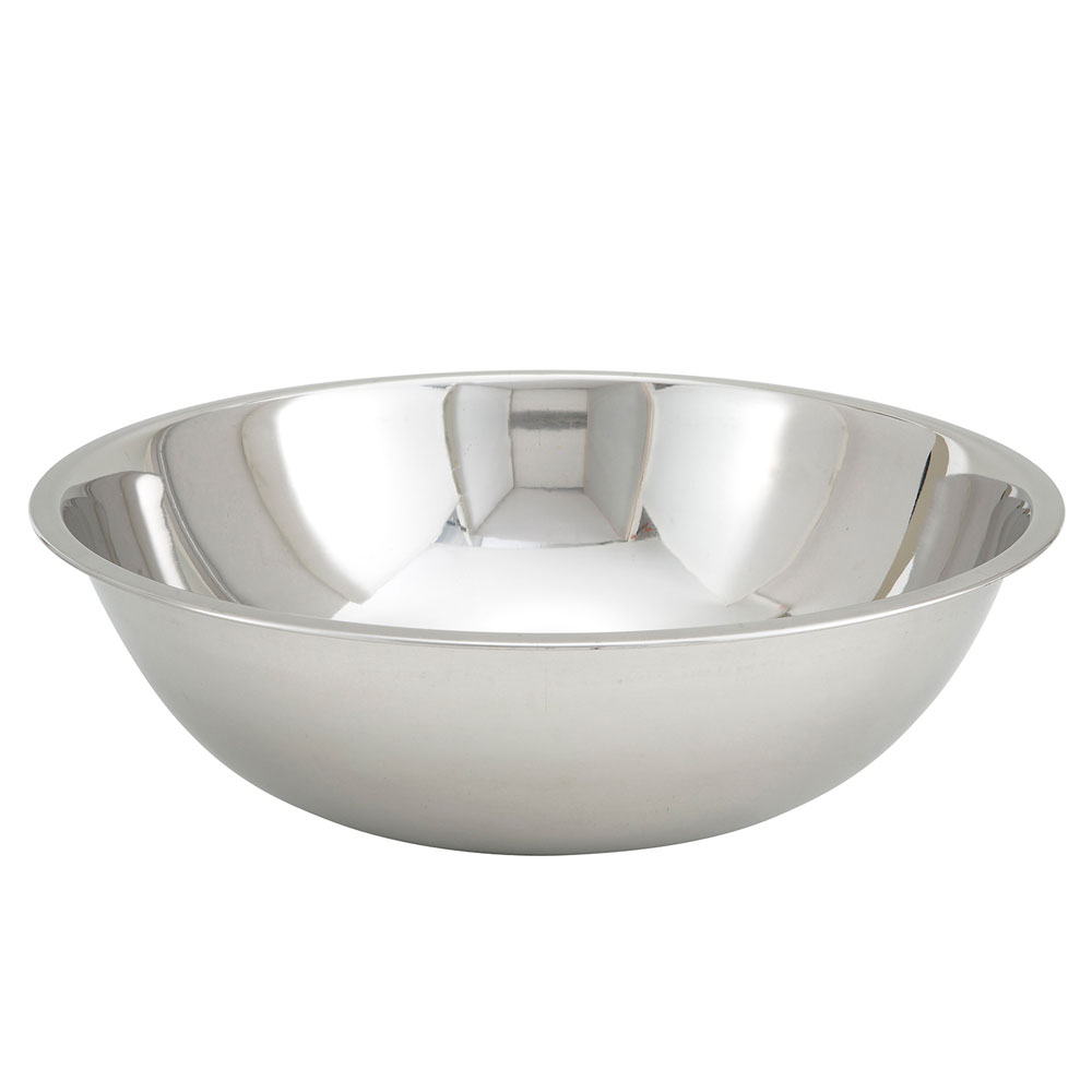 Winco MXBT-2000Q 20-qt Mixing Bowl - Stainless