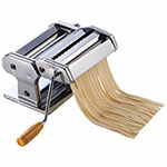 "Winco NPM-7 7"" Pasta Cutter w/ Detachable Cutter, Stainless"
