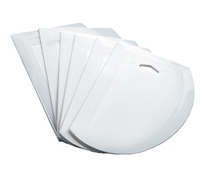 """Winco PDS-7 Dough Scraper - 7-1/2x4-3/4"""", Plastic"""