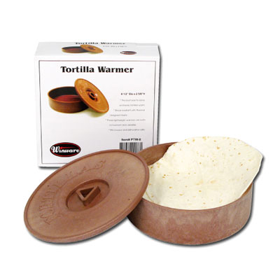 "Winco PTW-8 Tortilla Warmer, 8-1/2""D x 2-5/8""H"