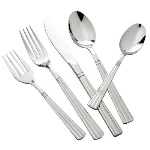 Winco 0007-03 Dinner Spoon, 18/0 Stainless Steel, Medium Heavy, Regency Pattern