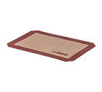 Winco SBS-11 Baking Mat - 8-1/4x11-3/4-in, Silicone