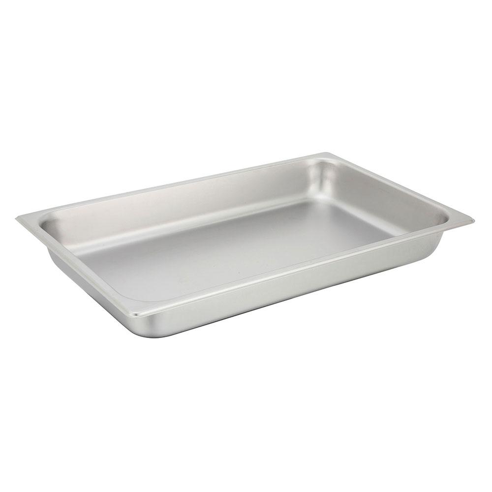 Winco SPF2 Full-Sized Steam Pan, Stainless