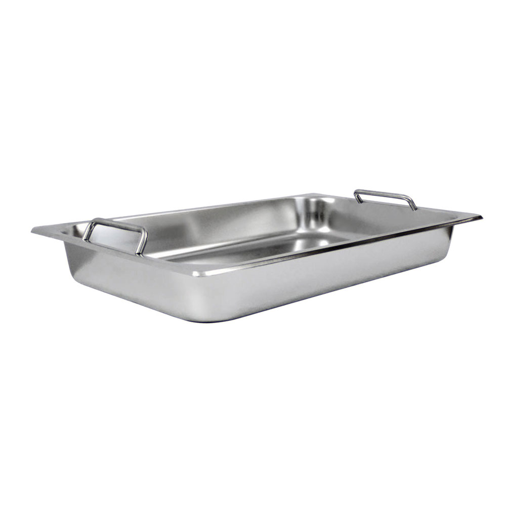 Winco SPF2HD Full-Sized Steam Pan, Stainless