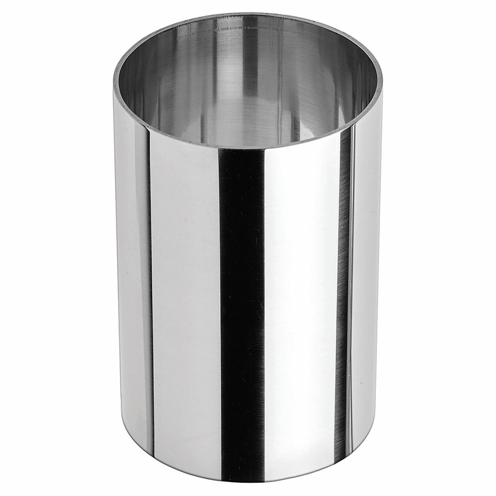 """Winco SPM-23R Round Pastry Mold - 2"""" x 3"""", Stainless"""