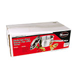 Winco SSSP-10 10-qt Stainless Steel Saucepan w/ Hollow Metal Handle