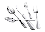 Winco 0034-06 Salad Fork, Extra Heavy, 18/8 Stainless Steel, Stanford Design