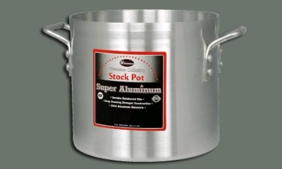 Winco AXS-40 40-qt Stock Pot, Aluminum