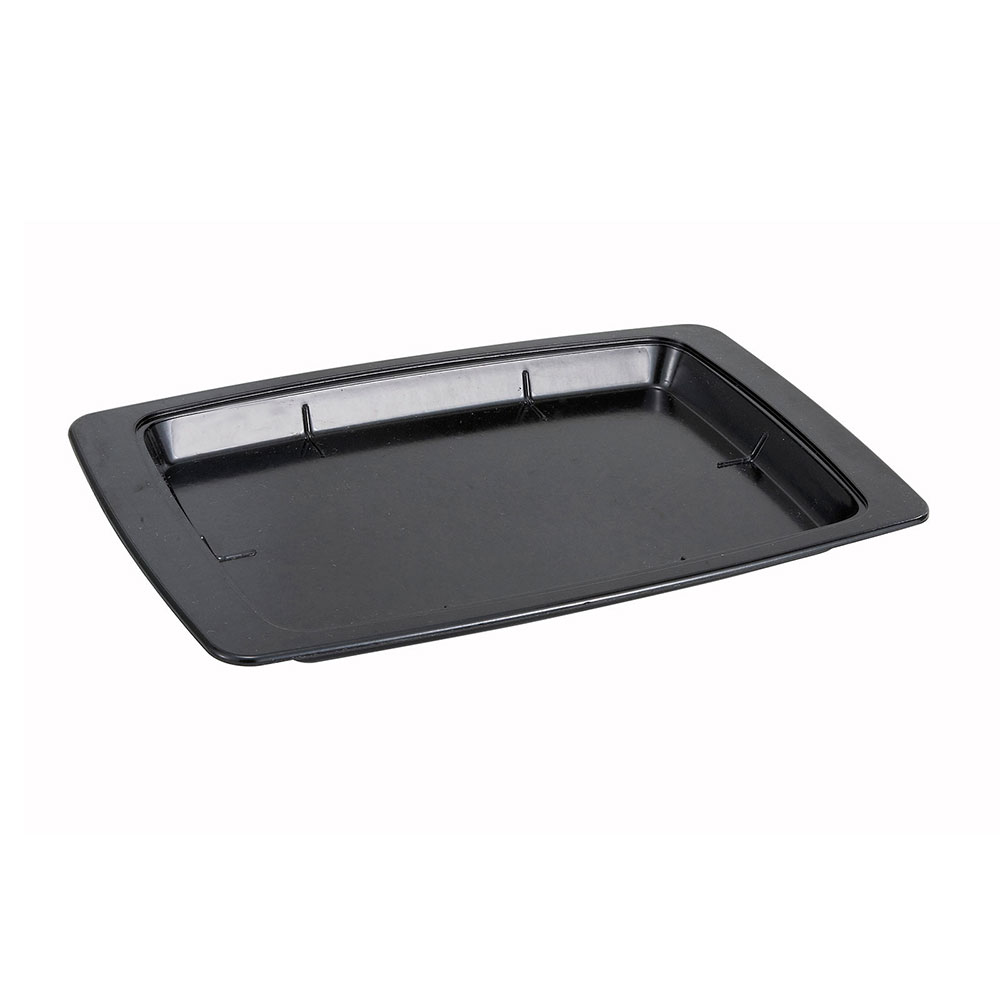 Winco SWU-11B Oblong Underliner for Sizzling Platter, Stainless