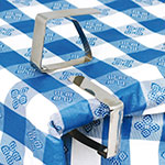Winco TBC-1 Table Cloth Clip, Stainless Steel