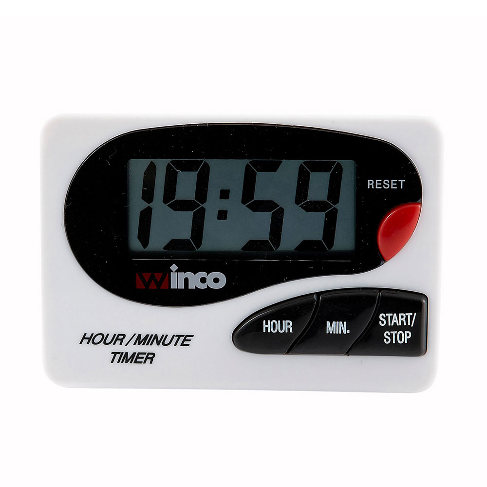 Winco TIM-85D Large LCD Digital Timer, Hour/Minute