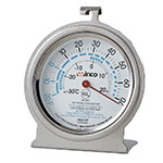 Winco TMT-RF3 Refrigerator Freezer Thermometer, Dial Type, 20 to 70-Temperature Range, 3""