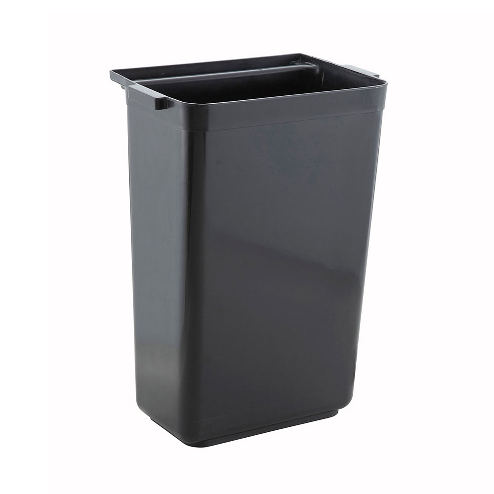 Winco UCB3 Refuse Bin for UC-35G/K & 40G/K, Black