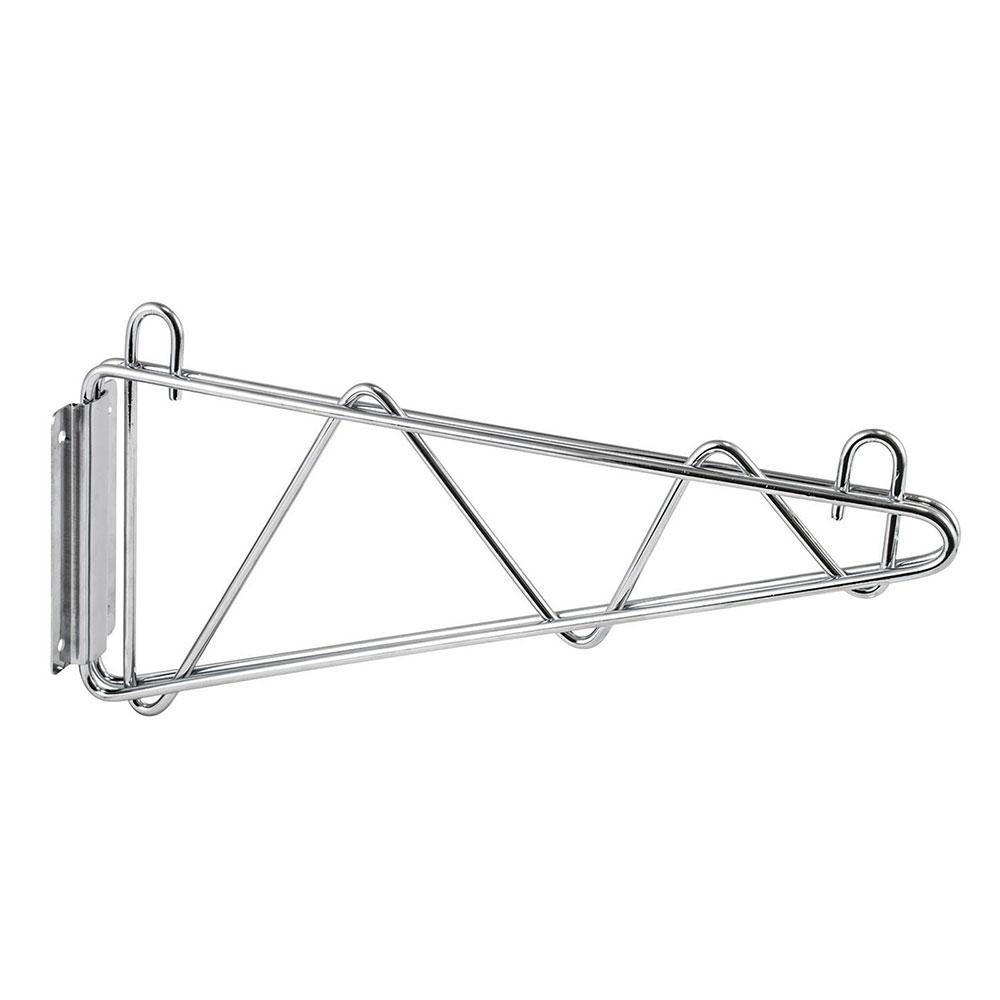 "Winco VCB-18 18"" Wire Shelf Mounting Bracket - 1-pr, Chrome Plated"