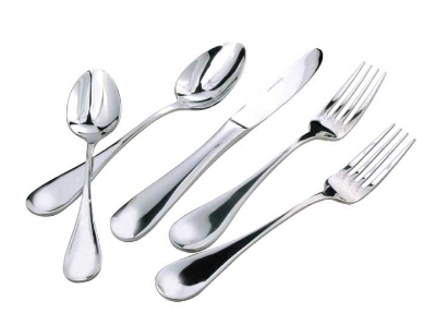 Winco 0037-04 Bouillon Spoon, Extra Heavy, 18/8 Stainless Steel, Venice Design