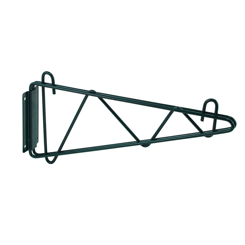 "Winco VEXB-18 18"" Wire Shelf Wall Mounting Bracket - 1-pr, Epoxy Coated"