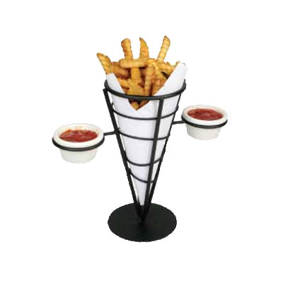 "Winco WBKH-5 French Fry Basket, 4-5/8""Diameter x 9-3/8""H, Wire"