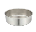 Winco 602-WP 6-qt Round Chafer Water Pan for Model #601, Stainless