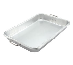 "Winco ALRP-1826H Bake Roast Pan w/ Handle, 17.75 x 25.75 x 3.5"", Aluminum"
