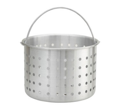 Winco ALSB-32 32-qt Steamer Basket for ALST-32, ALHP-32 & SST-40, Aluminum