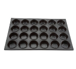 Winco AMF-24NS 24-Compartment Aluminum Muffin Pan w/ Non-Stick Coating