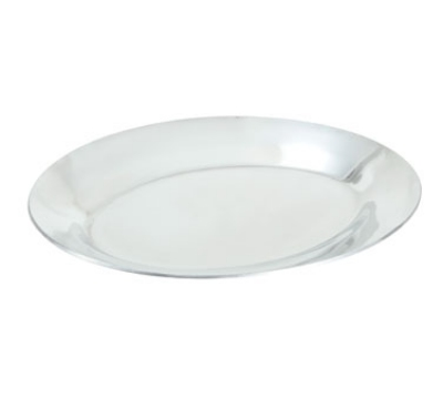 "Winco APL-11 11"" Oval Sizzling Platter, Aluminum"