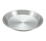 "Winco APPL-9 9"" Round Pie Pan, Aluminum"