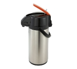Winco APSK-725DC 2.5-L Vacuum Server w/ Stainless Body & Liner, Decaf Lever-Top