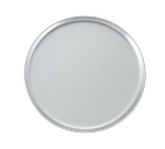 "Winco APZC-14 14"" Round Coupe Pizza Pan, Aluminum"