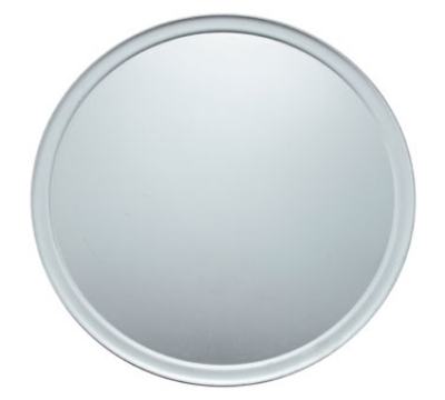Winco APZT-20 20-in Round Wide Rim Pizza Pan, Aluminum