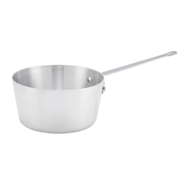 Winco ASP-3 3.75-qt Aluminum Saucepan w/ Solid Metal Handle