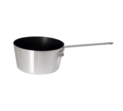 Winco ASP-3NS 3.75-qt Aluminum Saucepan w/ Solid Metal Handle