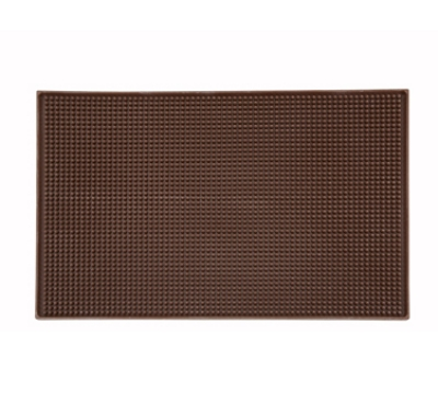 Winco BM-1812B Service Mat, 18 x 12-in, Brown