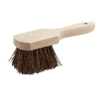 "Winco BRP-10 10"" Pot Brush w/ Wood Handle"