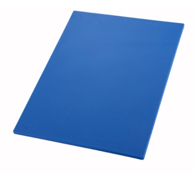 Winco CBBU1218 Cutting Board, 12 x 18 x .5-in, Blue