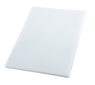 Winco CBH-1520 Cutting Board, 15 x 20 x .75-in, White