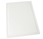 Winco CBI-1520 Grooved Cutting Board, 15 x 20 x .5-in, White