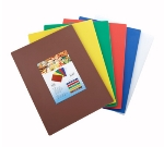 "Winco CBST-1520 Cutting Board Set, 15 x 20 x .5"", Mixed Colors"