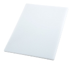 "Winco CBWT-1218 Cutting Board, 12 x 18 x .5"", White"