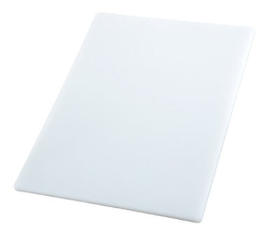 Winco CBWT-610 Cutting Board, 6 x 10 x .5-in, White