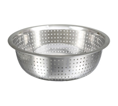 Winco CCOD-11S 11-in Chinese Colander w/ 2.5mm Holes, Stainless