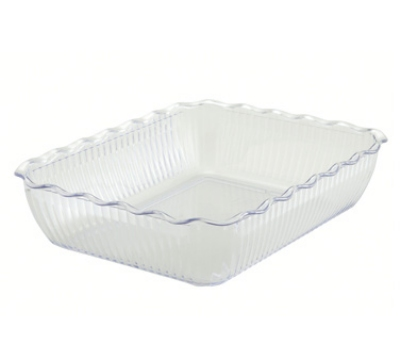 Winco CRK-13C Food Storage Container Crock, 13 x 10 x 3-in, Cream