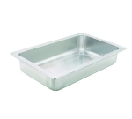 Winco C-WPF Full Size Water Pan, 4-in Deep, Stainless
