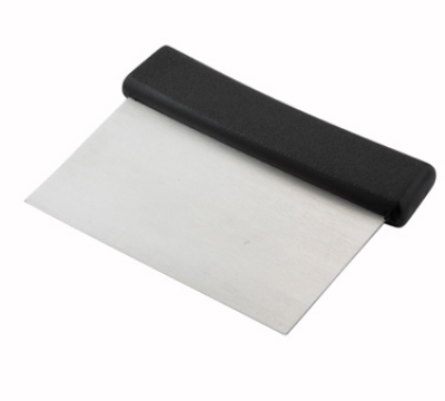 Winco DSC2 Dough Scraper w/ Plastic Handle