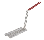 Winco FB-PB Fry Basket Press w/ Plastic Coated Handle, Fits FB-30