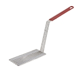 Winco FB-PS Fry Basket Press for FB-10 & FB-20 w/ Plastic Coated Handle