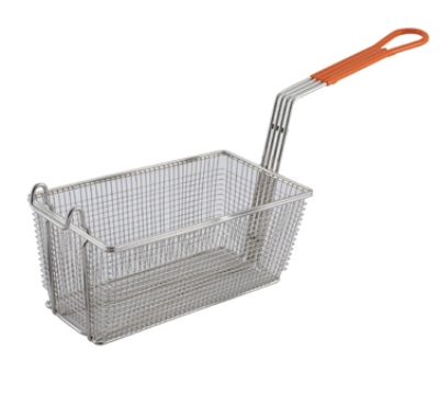 Winco FB-10 Half Size Fryer Basket, Steel