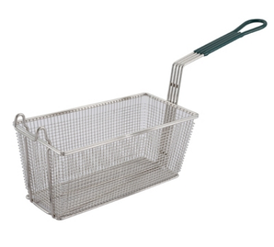 Winco FB-30 Half Size Fryer Basket, Steel